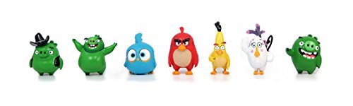 Angry Birds Movie Mini Figure Multi Pack Set B (7 Piece) -