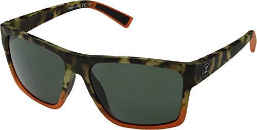 Von Zipper Dipstick Sunglasses-Camo Blaze Satin-Vintage Grey (Von Zipper Sunglasses Vintage)