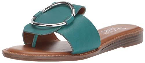 Franco Sarto Women's Gretel Sandal, Turquoise, 8.5 M US