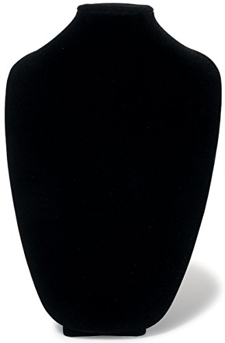 - Darice (2025-336) 3D Form Jewelry Display, 15-Inch, Black Velvet