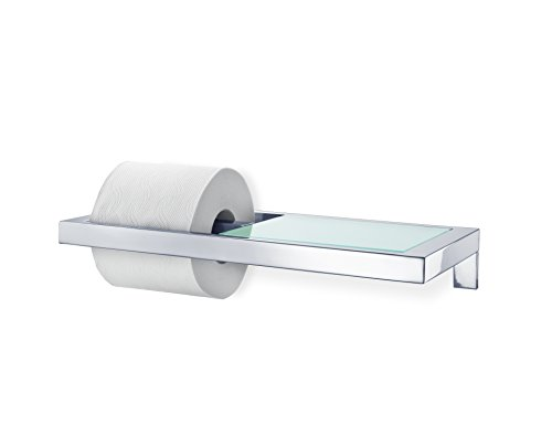 Blomus 68832 TP Holder w/Shelf Polish Blomus Stainless Steel Shelf