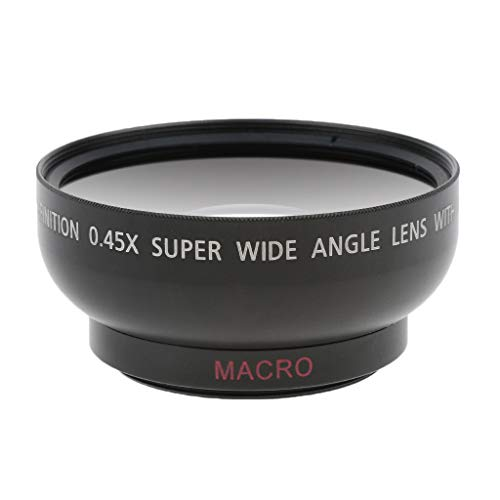 Street27 43mm 0.45x Wide Angle Lens with Macro for Canon Nikon Sony Pentax 52 mm Thread DSLR Camera