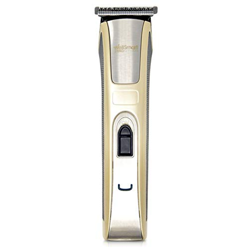 WellSmart Pro Wireless Outliner & Trimmer - Premium, Multi-Purpose T-Blade Outliner & Trimmer - Cordless, Precision-Cutting, Ergonomic - Includes: 4 Guards, Blade Oil, Cleaning Brush, and Charger