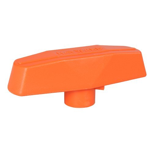 Hayward TBX138 PVC Orange 3-Inch Handle Replacement for Hayward Tb Series True Union Ball Valve - 3