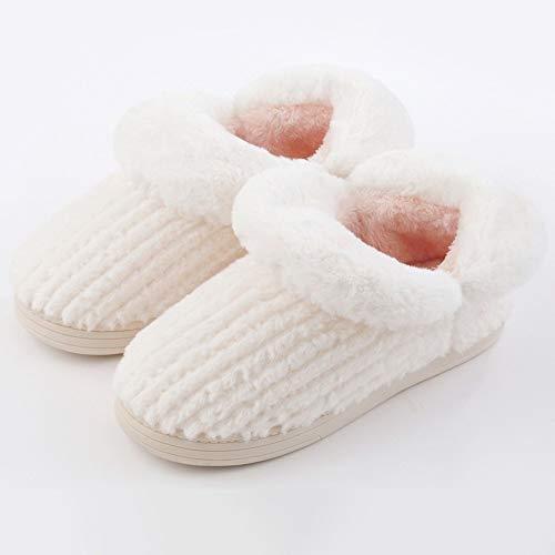 Pour Et D'hiver Dames Femmes Chaudes Hommes La Chaussures Maison Chaussons D'intérieur Pantoufles Zlulu 4twXqX