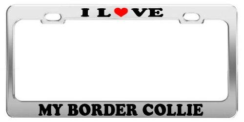 Border Collie Plate - 2