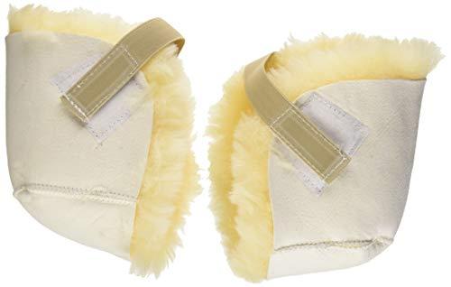 PCP Sheepskin Pressure Relief Sores Heel Protectors, - Sore Heels