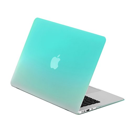 TOP CASE Gradient Rubberized Turquoise