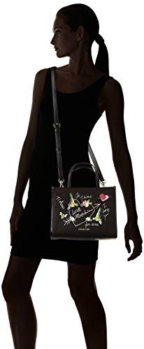 Love Moschino Moschino, femme, Schwarz (Black Canvas), 10x21x28 cm (B x H T)