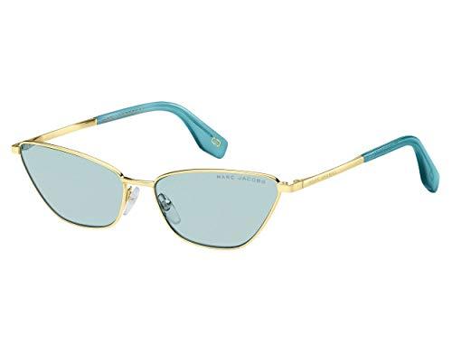 - Sunglasses Marc Jacobs 369 /S 0MVU Azure / 1P azure gradient lens