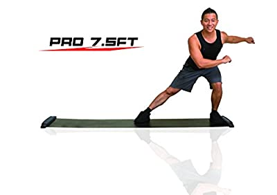Balance 1 Slide Board Pro-90 Inch(7.5FT) Super Smooth Board with free Lycra booties! by Balance 1