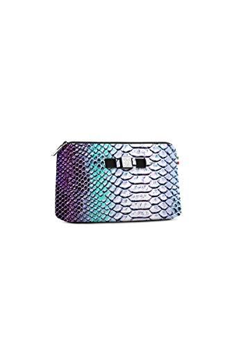 Medium Mm Stampata 65x155x245 Borsa My Bianco Travel Donna Bag Borsello Python Save Pouch pOwARgqfx