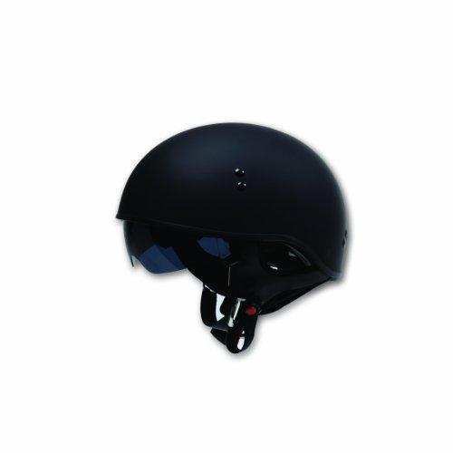 TORC T55 Spec-Op Half Helmet (Flat Black, Large)