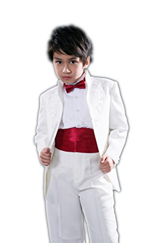 MLT Boy's Two Pieces Party Prom Wedding Suit Set (S) by MLT