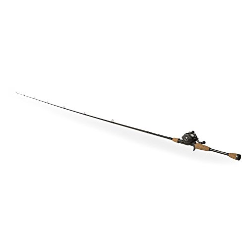 Shakespeare AGLPCBO Agility Low Profile Baitcast Rod and Reel Combo, 6.6 Feet, Medium Power