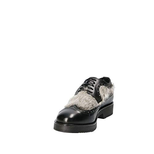 Casual 4665sa 35 Mujeres Mally Zapatos Negro wOvqAF6E