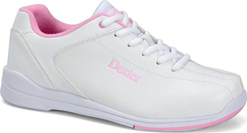 Dexter Women's Raquel IV Bowling Shoes, White/Pink, 8 by Dexter