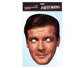 James Bond Mask Pack- 2 Masks- Roger Moore and Daniel Craig -