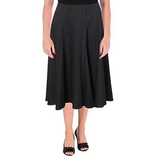- Jil Sander Navy Womens Wool Panel Midi Skirt Black 40