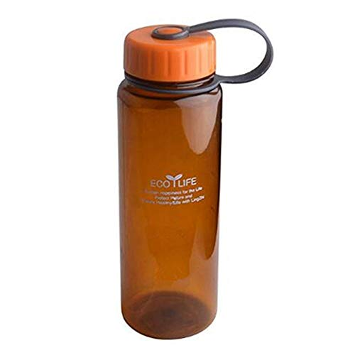 MATT SAGA Sports Water Bottle, Wide Mouth BPA Free Travel Water Mug,17oz Plastic Cups Water Container for Camping Hiking Running Cycling Office School