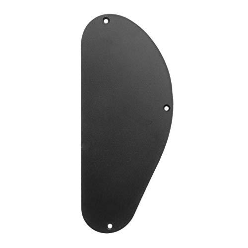 Car accessories - 1PCS Electric Guitar Back Cover Plastic Bass Guitar Cavity Back Plate Cover Case Wiring Backplate Guitar Pickguard, 18080mm (Oakland Raiders Guitar Picks)