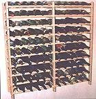 Home-App Vinland 120 Bottle Wine Rack, 12 wide by 10 high Home Supply Maintenance Store