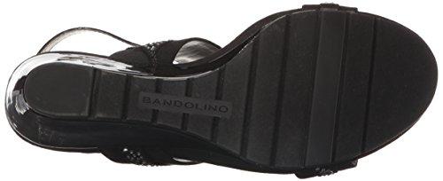 Sandalo Con Zeppa Greedson Da Donna Bandolino Nero