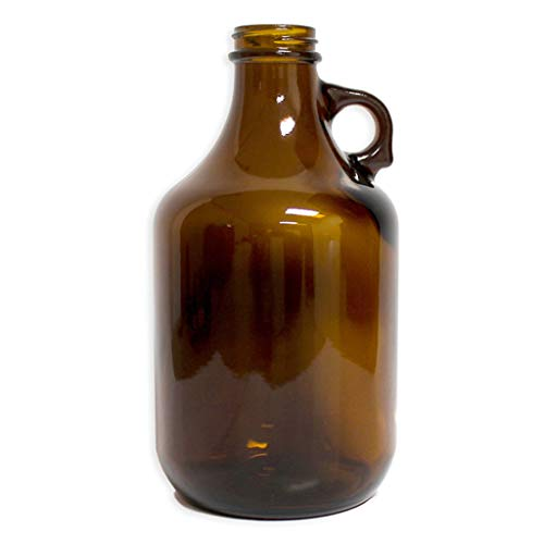 32oz Amber Glass Jug