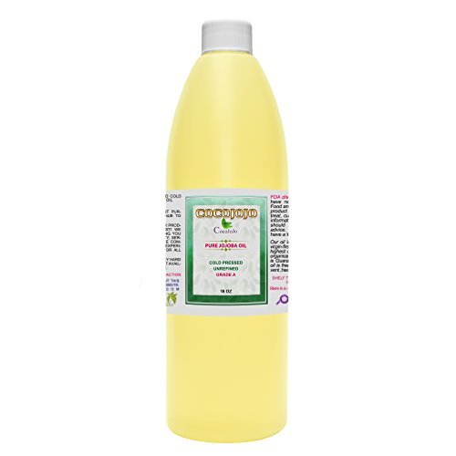 - Jojoba Oil - Cold Pressed - 100% Pure - Natural - 8oz,16 oz, 33oz or 1 gallon Face - Hair - Beard - Skin - Body - Lips - Extra Virgin - Unrefined -Golden Fresh Cut 4 differnet sizes