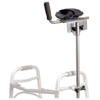 Universal Platform Walker/Crutch Attachment - Standard, Universal, for use with Adult and Junior Walkers. 36''-48''H. 300 lb. weight capacity