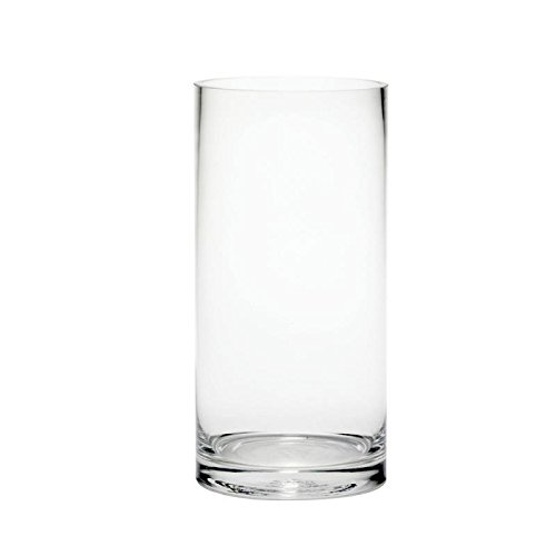 Cheap Gl Vases: Amazon.co.uk on valentine's containers wholesale, plastic floral containers wholesale, baskets wholesale, cylinder vase centerpieces, cylinder glass vase 21 2 opening, cylinder vase ideas, mason jars wholesale, martini glasses wholesale, cylinder wedding centerpieces,