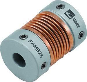 Aluminium-Balgen-Wellenkupplung | Bohrungsdurchmesser 4mm/4mm (D1/D2)