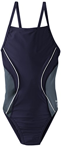 Speedo Big Girls' PowerFLEX Eco Revolve Splice Energy Bac...