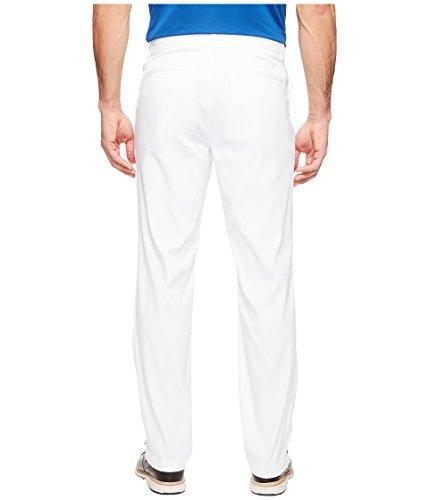 NIKE Mens Flat Front Golf Pants White/White fDOY8saP6