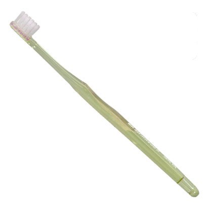 Lion Slimhead2 Toothbrush 34M 1 Count Clear Yellow (Made in Japan) by Lion