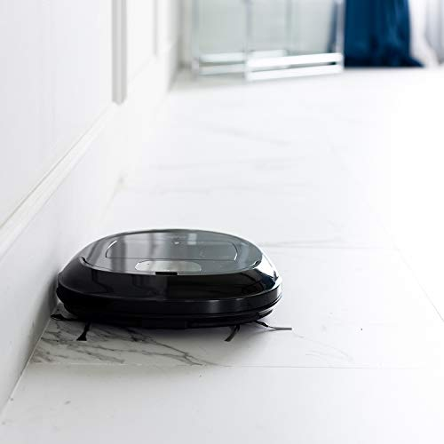 iClebo O5 Robot Vacuum with Smart Camera Mapping, Adjustable Suction, Good for Pet Hair, Wi-Fi Connect, Works with Alexa