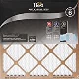 Flanders 12 X 24 X 1 Dust and Lint MERV 6 Furnace Filter (4-Pack)