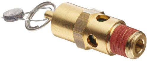 Control Devices SA Series Brass ASME Safety Valve, 165 psi Set Pressure, 1/4