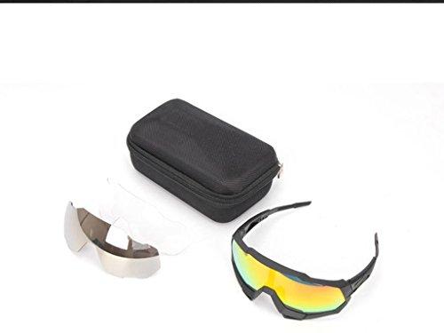 Aili Gafas De Bicicleta/Gafas De Montar, Gafas De Sol De Ciclismo Gafas De Bicicleta Gafas De Sol Polarizadas Protección UV,C: Amazon.es: Deportes y aire ...
