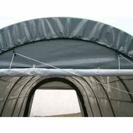 22' - 30'W Roll Up Door Kit For Portable Two Car Garages by Rhino