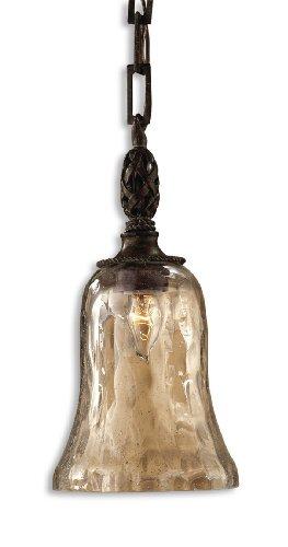 Antique Saddle Galeana 1 Light Mini Pendant