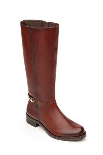 (Flexi NALA Women's Genuine Cowhide Leather Long Equestrian Style Boot   46614 (10))