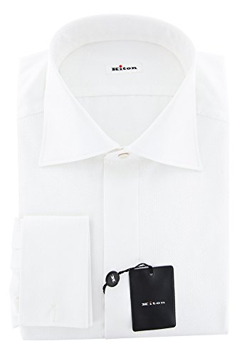 new-kiton-white-solid-slim-shirt