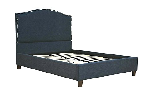 Major-Q Special Selection Luxurious Queen Size Bed for Bedroom (7026430Q) - Queen Arched Panel Bed