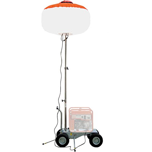 - Multiquip GBC GloBug Light Balloon 1,000-Watt Metal Halide Lamp and Heavy Duty Cart, 12-Feet Maximum Height