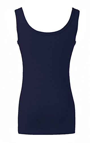 Wenseny Mujer BXN Cordón Casual Camiseta Sin Mangas Tank Top Con Terciopelo Negro