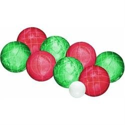 Halex Classic Series Bocce Set (100mm Liquid Filled Balls) by Halex