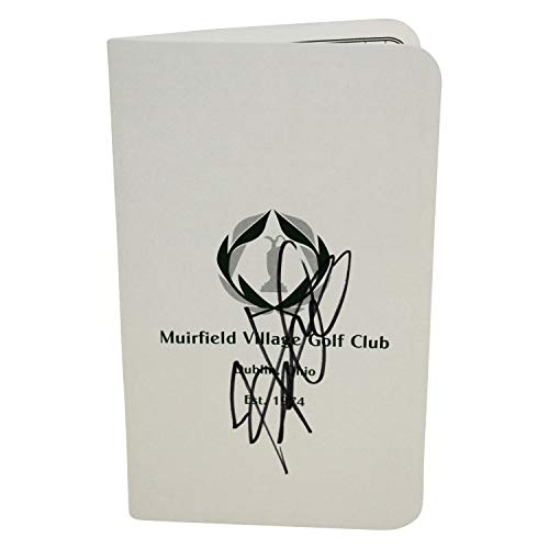 Hideki Matsuyama Autographed Signed The Memorial Tournament at Muirfield Score Card - Certified Authentic from Sports Collectibles Online