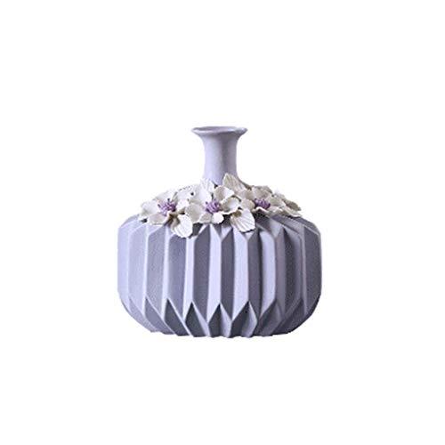 A-21.520cm Vase européen orneHommests en céramique combinaison décoration décoration maison approprié, fête, mariage, décoration de la pièce modèle, table basse de restaurant, bar ( Couleur   A-21.