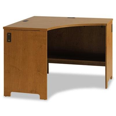 Office Connect By Bush Furniture - Envoy Corner Desk Shell 42-1/8W X 42-1/8D X 30-1/4H Natural Cherry ''Product Category: Office Furniture/Desks'' by Original Equipment Manufacture